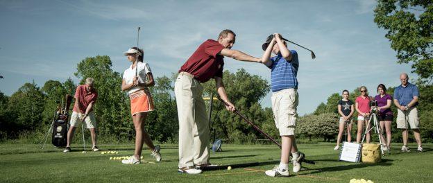 nybörjare golf